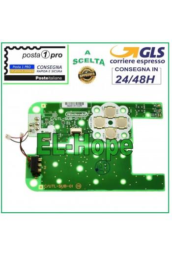 DOCK PCB C/UTL-SUB-01 TASTO...