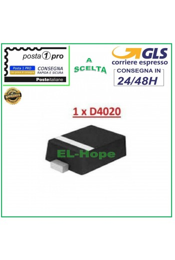IC CHIP DIODE D4020 DIODO...