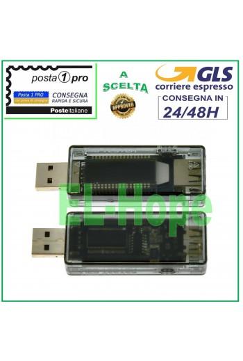 TESTER USB RILEVATORE DI...